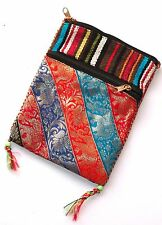 PASSPORT POUCH with 2 zippered pockets and neck cord