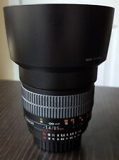 Rokinon 85mm f/1.4 Aspherical UMC Lens For Nikon (with Automatic Chip)