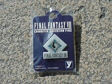 FINAL FANTASY VIII 8 CHARACTER COLLECTION PINS PIN ORIGINAL LOGO JAPONES NUEVO