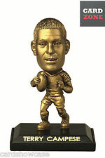 2009 Select NRL LIMITED EDITION GOLD FIGURINE No.9 Terry Campese (Raiders)