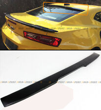 For 2016-17 Chevy Camaro LT RS Sport Primer Black Rear Window Roof Spoiler Wing
