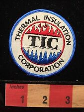 TIC Advertising Patch ~ Thermal Insulation Corporation Winston Salem NC 65E5