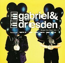 Vol. 1-Mixed For Feet - Gabriel & Dresden (2011, CD NEU)2 DISC SET