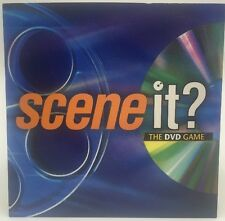 Original SCENE IT? The DVD Game Replacement DVD Disc & Sleeve Mattel 2002