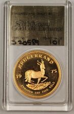 1975 South Africa Krugerrand 1 Oz Gold South African Coin Exchange S20559