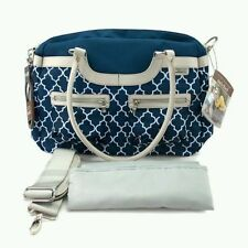 NEW with tags JJ Cole satchel NAVY baby changing bag