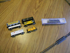 N Scale set Lifelike FA1 diesel locomotive Missouri Pacific  5 cars and caboose