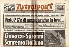rivista TUTTOSPORT - 17/03/1980 N. 74 JUVE INDAGATA