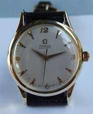 Omega Automatic Watch - Ω 500 - 14K Solid Gold Case