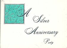 A Silver Anniversary Party Invite Invitation 8ct Cards 25th Wedding Event New