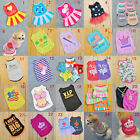 New Pet Puppy Summer Shirt Small Dog Cat Pet Clothes Vest T Shirt 20 Styles