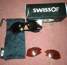 Occhiali bici ciclismo Swiss eye Skyhawk bike cycling sunglasses gold/orange