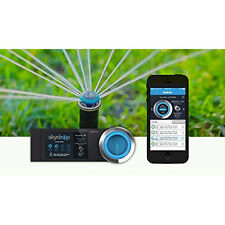 SkyDrop 8 Zone Wifi-Enabled App Smart Home Sprinkler Water Controller Save Money