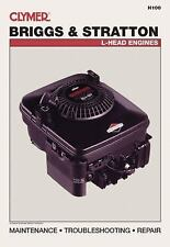 1996-Earlier Briggs Stratton 2 3 3.5 4 5 7 8 10 11 12 12.5 HP Repair Manual H100