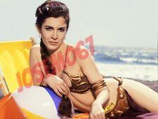 Carrie Fisher Star Wars (Slave Leia Costume) 8x10 Photo #3