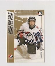 Caroline Ouellette Going for Gold Team Canada Women's Hockey Autographed Card