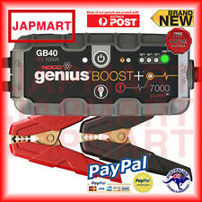 NOCO GENIUS BOOST GB40 12v Booster Lithium-ion 1000AMP Car Battery Jump Start