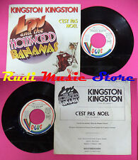 LP 45 7'' LOU AND THE HOLLYWOOD BANANAS Kingston C'est pas noel no cd mc dvd