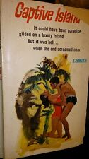 Captive Island by Z Smith Scripts pulp paperback 1967