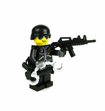 LEGO(R) Police SWAT tactical Officer minifigure military army builder