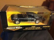 1968 MUSTANG FASTBACK CJ428  American Muscle 1:18th Scale Ertl Limited COLOR