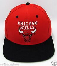 NBA Chicago Bulls Snapback Cap Hat Air Jordan Dwayne Wade 2tone Red Black New
