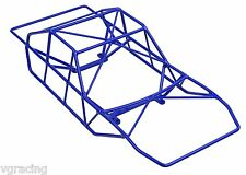 Powder Coated Blue Roll Cage for the ECX Torment Short Course Truck By VG RACING