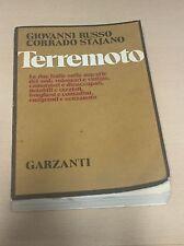 Terremoto von Giovanni Russo / Corrado Stajano     Garzanti  Buch Italien