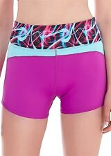 FREYA ACTIVE ULTRA VIOLET SPORTS RUNNING SHORT SIZE UK S / AU 10 NEW W/ TAGS