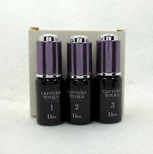 DIOR CAPTURE TOTALE 21 NIGHT RENEWAL TREATMENT SET OF 3*10 ML/0.33 OZ. NEW(T)