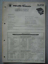 PHILIPS el3798 Service Manual STAND 01/66 supporto da auto per el 3300 3301