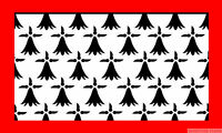 LIMOUSIN 5x3 feet FLAG 150cm x 90cm Polyester fabric flags FRANCE French