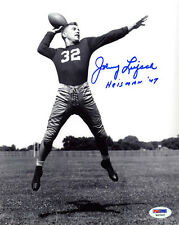Johnny Lujack SIGNED 8x10 Photo + Heisman '49 Notre Dame PSA/DNA AUTOGRAPHED
