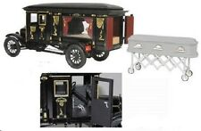 VERY RARE Precision Miniatures  1921 Ford Model T Ornate Carved Hearse /18 scale