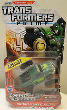 Transformers Prime Robots In Disguise Deluxe Sergeant Kup MOSC Series 1: 013