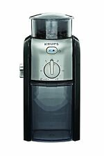 Krups Gvx212 Coffee Grinder With Grind Size & Cup Selection & Stainless Steel Ne