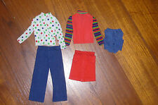 OUTFIT BARBIE DOLL BEST BUY FASHIONS #7703 1973 SUPERSTAR MATTEL BAMBOLA VINTAGE