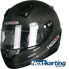 Koden Childrens Kids Kart Karting CMR Helmet KDC Carbon Medium 52/53 cm
