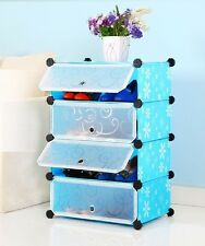 PVC SHOE RACK 4 LAYERS-LKL-516-2