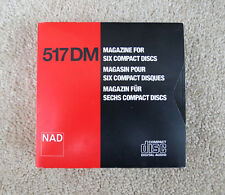 GENUINE NAD 5170 DUAL MECHANISM CD PLAYER 6 DISC MAGAZINE HARD TO FIND ITEM