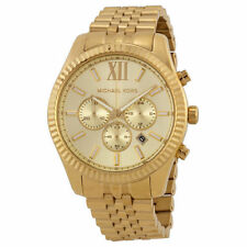 Designer Michael Kors Watches Lexington MK8281 Watch - Gold