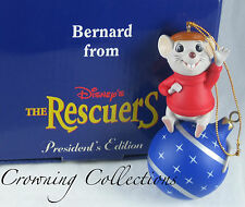 Grolier Bernard The Rescuers Disney President's Edition Ornament Mice Scholastic