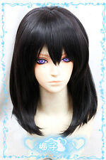 232 Strike The Blood  Himeragi Yukina 50cm black Cosplay fashion wig