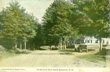 Kingston,NH. 1916 on the Pow Wow Road