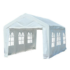 20'x10' Heavy Duty Carport Wedding Party Tent Gazebo Pavilion Camping Events
