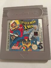 SPIDER-MAN X-MEN ORIGINAL NINTENDO GAMEBOY GAME BOY GB CARTRIDGE ONLY PAL