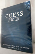 GUESS SEDUCTIVE HOMME BLUE BY GUESS 3.4 OZ / 100 ML EDT SPRAY NEW IN BOX FOR MEN