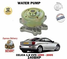 FOR TOYOTA CELICA + IMPORT 140 BHP 1.8i VVTi 1ZZ-FE 1999-2006 NEW WATER PUMP KIT