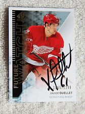 Detroit Red Wings Xavier Ouellet 13/14 SP Authentic Rookie Card Auto #1065/1299