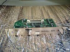 Sanyo POA-MD15SDI HD High Definition SDI Serial Digital Interface Board/Card